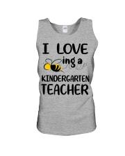I Love being a kindergarten Teacher Unisex Tank thumbnail