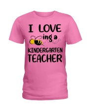 I Love being a kindergarten Teacher Ladies T-Shirt thumbnail