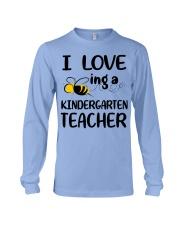 I Love being a kindergarten Teacher Long Sleeve Tee thumbnail