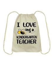 I Love being a kindergarten Teacher Drawstring Bag thumbnail