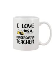 I Love being a kindergarten Teacher Mug thumbnail