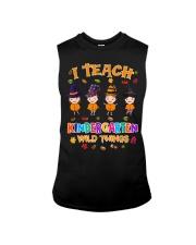 I TEACH KINDERGARTEN WILD THINGS Sleeveless Tee thumbnail
