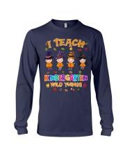I TEACH KINDERGARTEN WILD THINGS Long Sleeve Tee thumbnail