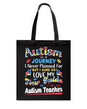 Autism is a Journey Tote Bag thumbnail