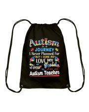 Autism is a Journey Drawstring Bag thumbnail