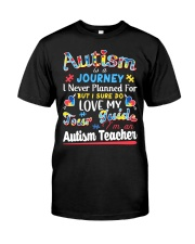 Autism is a Journey Classic T-Shirt front
