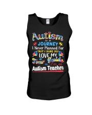 Autism is a Journey Unisex Tank thumbnail