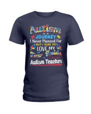 Autism is a Journey Ladies T-Shirt thumbnail