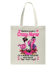 Crazy nurse Tote Bag thumbnail