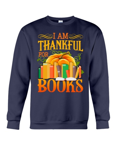 I AM THANKFUL FOR BOOKS