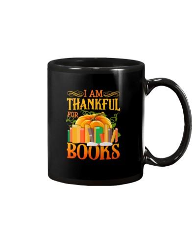 I AM THANKFUL FOR BOOKS
