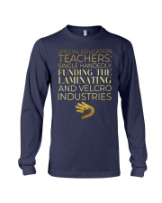 Special Education Teachers Long Sleeve Tee thumbnail