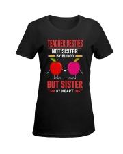 Teacher Besties Ladies T-Shirt women-premium-crewneck-shirt-front