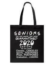 Seniors - Quarantined 2020 Tote Bag thumbnail