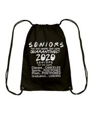 Seniors - Quarantined 2020 Drawstring Bag thumbnail