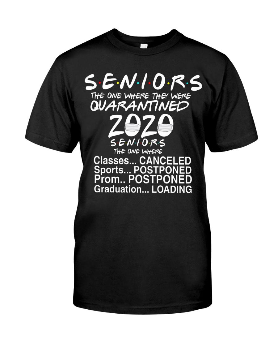 Seniors - Quarantined 2020 Classic T-Shirt