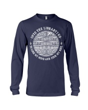Into the Library i go to lose my mind and find Long Sleeve Tee thumbnail