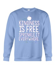 KINDNESS IS FRE SPRINKLE IT EVERY WHERE Crewneck Sweatshirt thumbnail