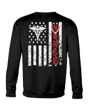 Nurse Flag Crewneck Sweatshirt thumbnail