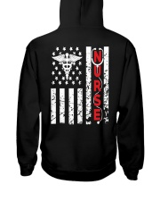 Nurse Flag Hooded Sweatshirt thumbnail