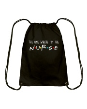 Nurse Flag Drawstring Bag thumbnail