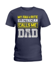 Electrician Calls me Dad Ladies T-Shirt thumbnail