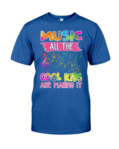 Music All the Cool Kids Are Making it