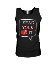 Read Your Heart Out Unisex Tank thumbnail