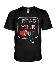 Read Your Heart Out V-Neck T-Shirt thumbnail