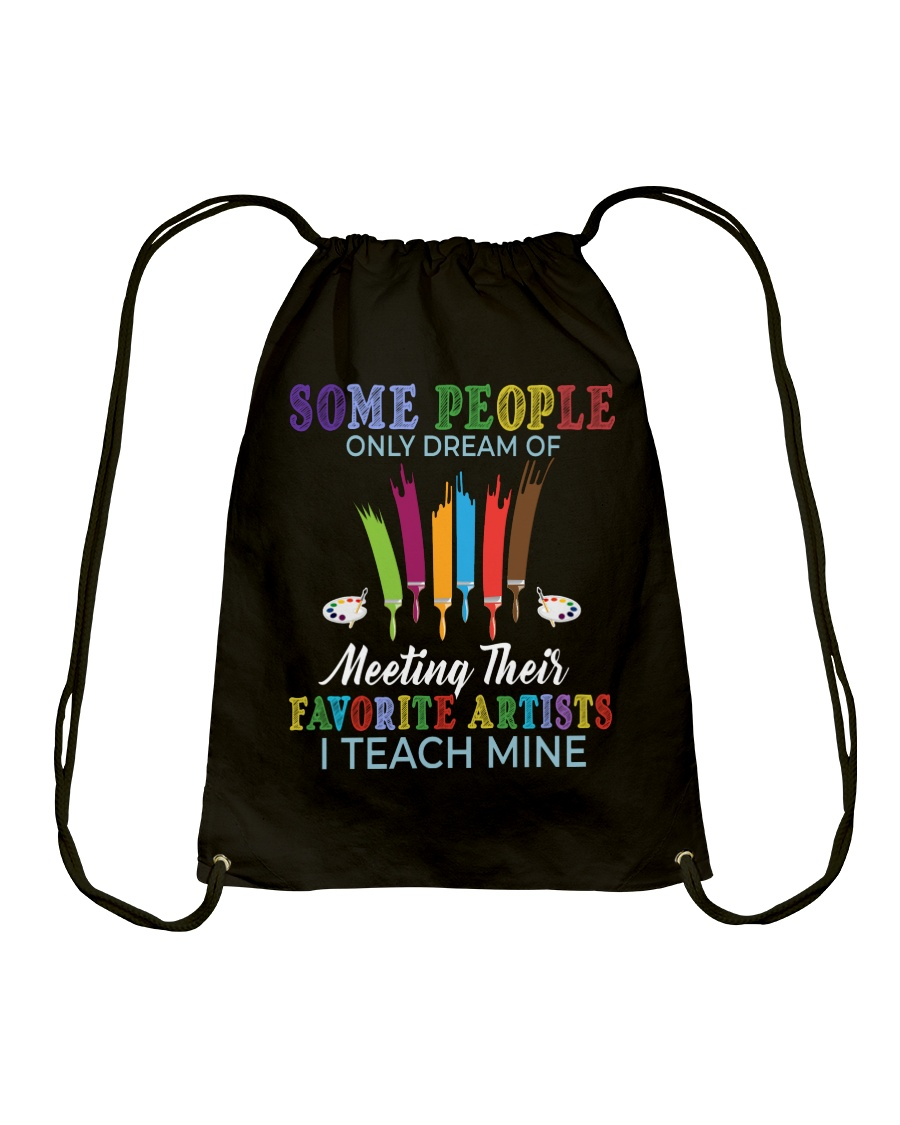 Favorite Artists Drawstring Bag