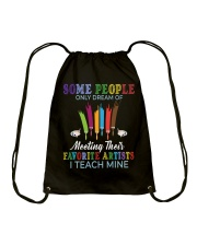 Favorite Artists Drawstring Bag front