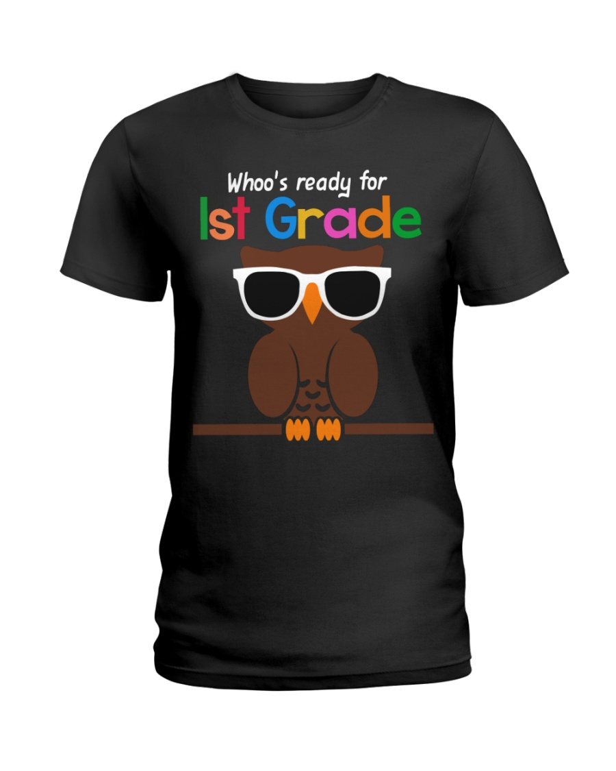 Ready for 1st grade Ladies T-Shirt