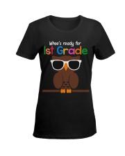 Ready for 1st grade Ladies T-Shirt women-premium-crewneck-shirt-front