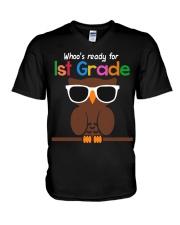 Ready for 1st grade V-Neck T-Shirt thumbnail