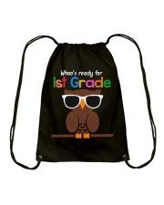 Ready for 1st grade Drawstring Bag thumbnail