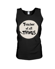 Teacher of all THINGS Unisex Tank thumbnail
