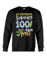MY STUDENTS SURVIVED 100 DAYS OF ME Crewneck Sweatshirt thumbnail