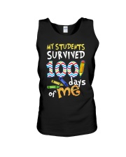MY STUDENTS SURVIVED 100 DAYS OF ME Unisex Tank thumbnail