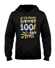 MY STUDENTS SURVIVED 100 DAYS OF ME Hooded Sweatshirt thumbnail