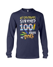 MY STUDENTS SURVIVED 100 DAYS OF ME Long Sleeve Tee thumbnail