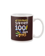 MY STUDENTS SURVIVED 100 DAYS OF ME Mug thumbnail