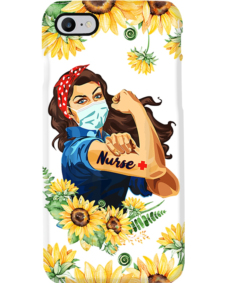 Nurse wear masks Phone Case