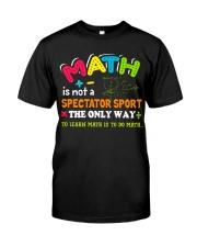 Math Teacher Classic T-Shirt thumbnail