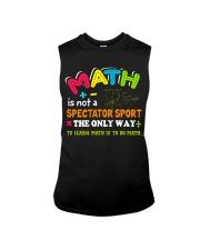 Math Teacher Sleeveless Tee thumbnail