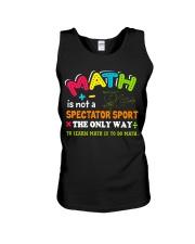 Math Teacher Unisex Tank thumbnail