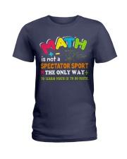 Math Teacher Ladies T-Shirt thumbnail
