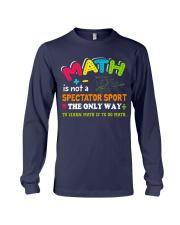 Math Teacher Long Sleeve Tee thumbnail