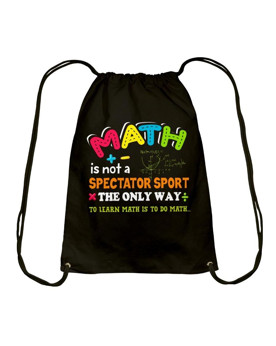 Math Teacher Drawstring Bag