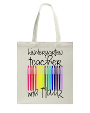Kindergarten Teacher with Flair Tote Bag tile