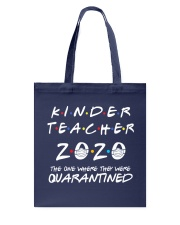Kinder Teacher 2020 Tote Bag thumbnail